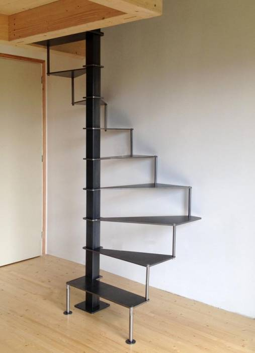 steel up petit escalier en acier. Black Bedroom Furniture Sets. Home Design Ideas