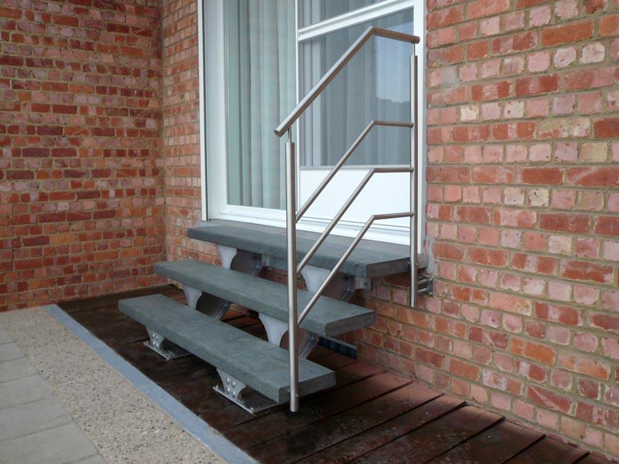 SPIRWILL EXT : escalier extérieur en aluminium