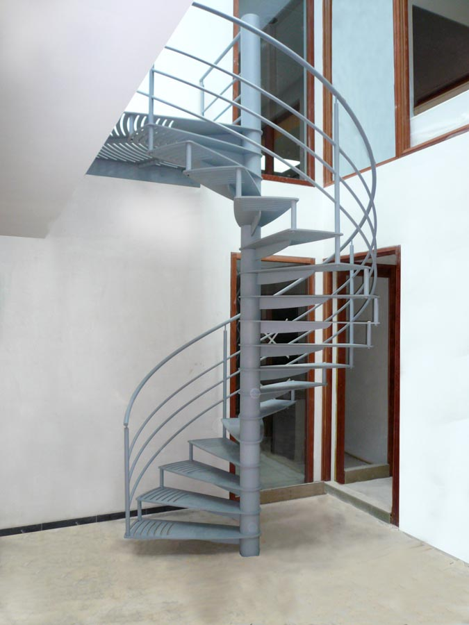 duke stevige stalen draaitrap voor binnen. Black Bedroom Furniture Sets. Home Design Ideas