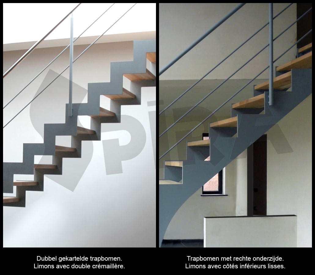 up and down escalier limons m talliques. Black Bedroom Furniture Sets. Home Design Ideas
