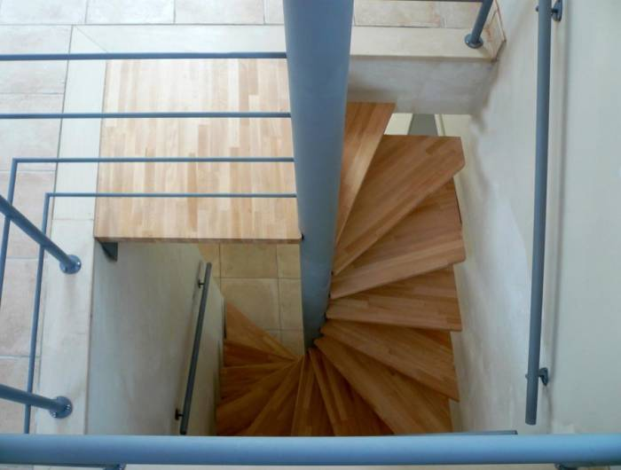Loop Carre Escalier Interieur Colimacon