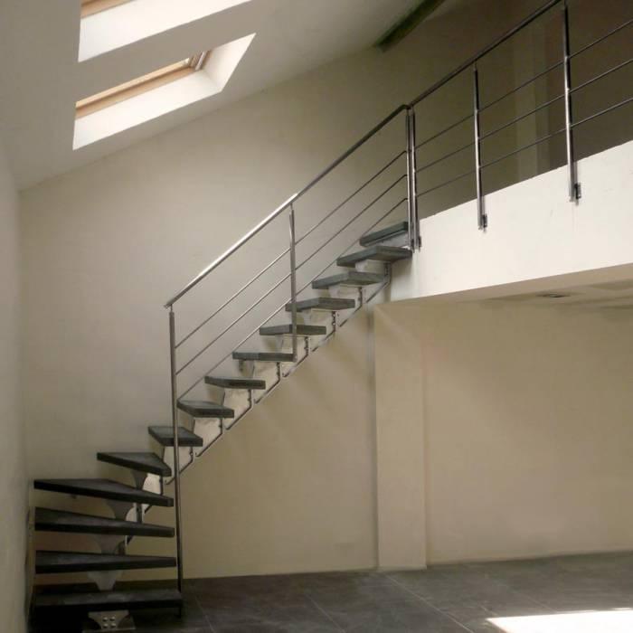 Spirwill modulaire trap in aluminium - Modulaire muur ...