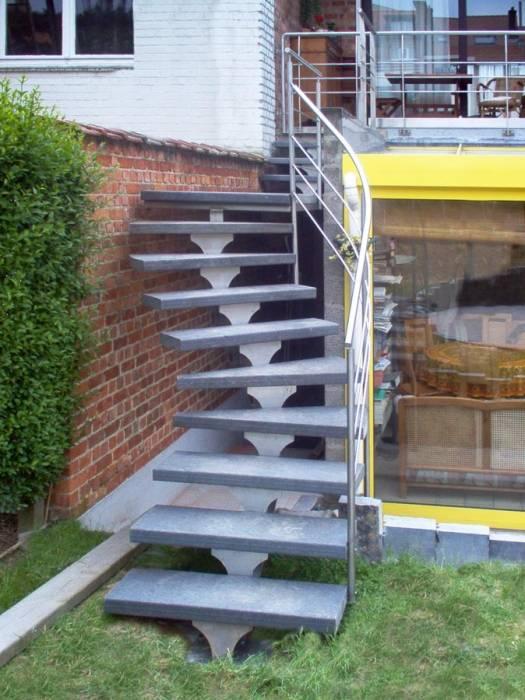 Spirwill ext escalier ext rieur en aluminium for Escalier modulable exterieur