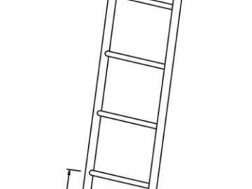 FIX UP - Inox ladder