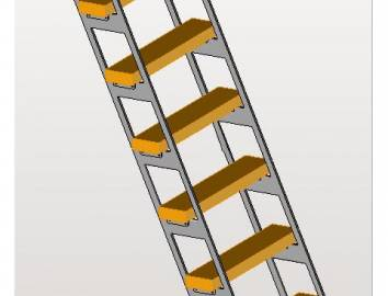 SPRING UP -  compacte ladder