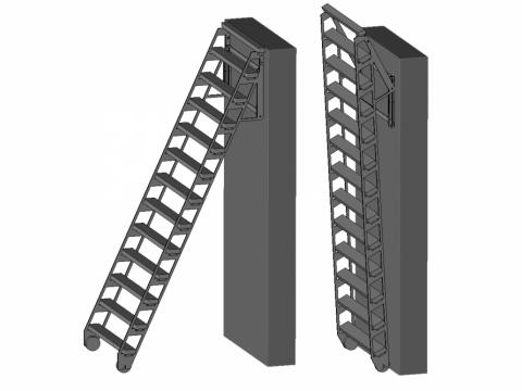 zip up chelle escalier escamotable. Black Bedroom Furniture Sets. Home Design Ideas
