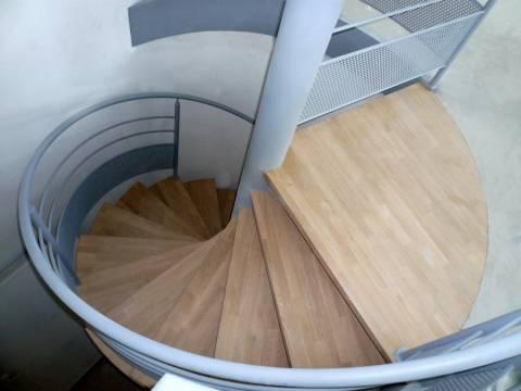 Escaliers intérieurs colimaçons