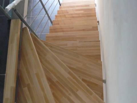 Escaliers intérieurs droits et tournants