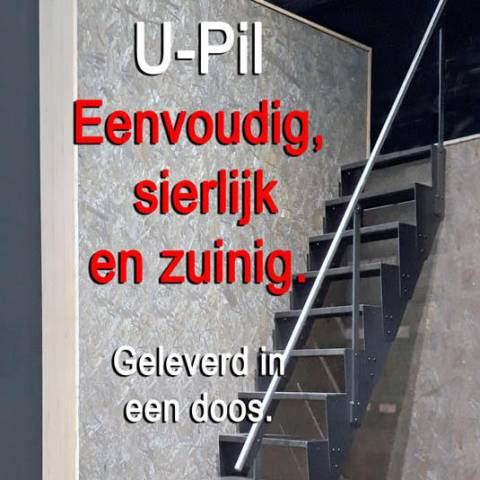 U-Pil  Een ladder of een trap ?